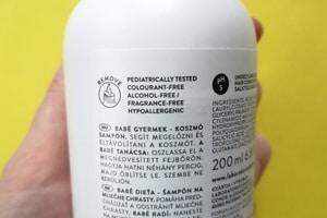 BABÉ Šampon na seboreu složení
