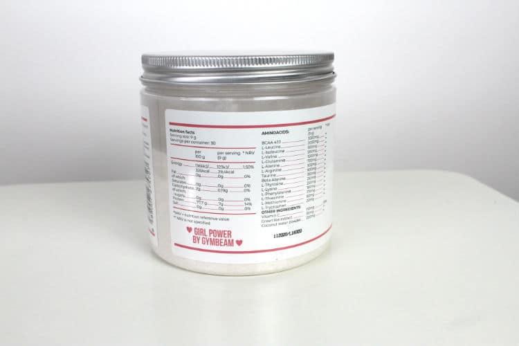 Amino Beast - aminokyseliny pro ženy složení