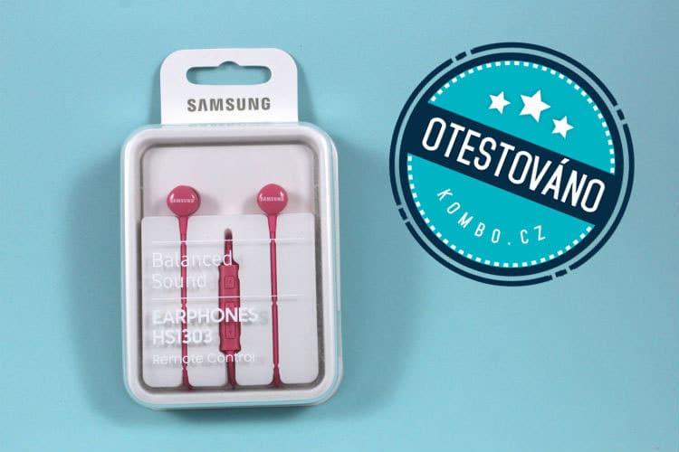 špuntový stereo headset Samsung EO HS recenze