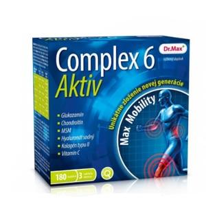 Doplněk pro kosti a klouby Dr.Max Complex 6 Aktiv