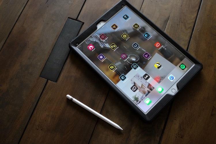 aplikace na tablet