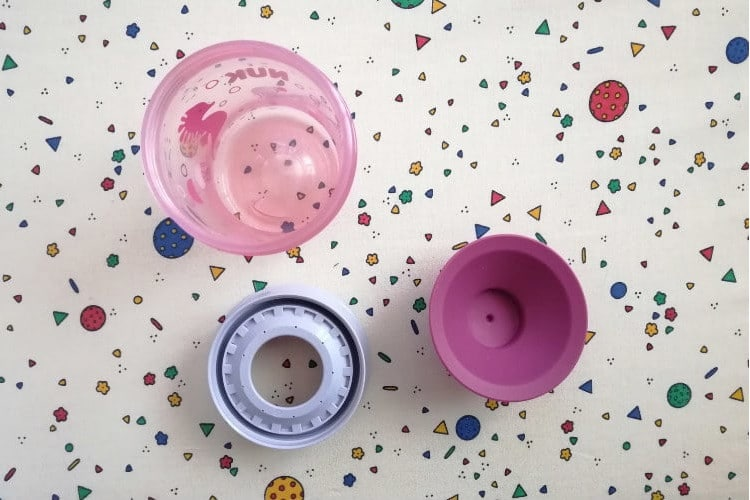 magický hrnek nuk magic cup části
