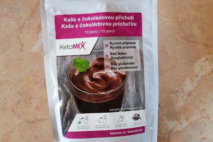 Ketomix kaše s čokoládovou příchutí