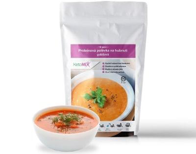 Proteinová polévka gulášová