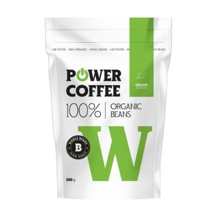 Power Coffee Organic Espresso BIO 250 g