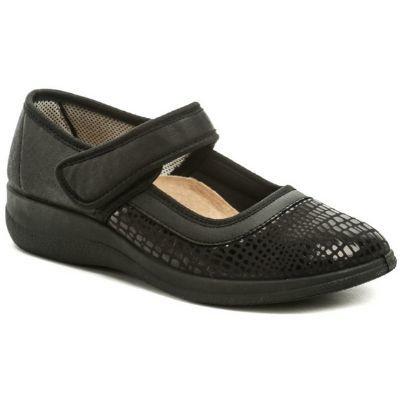 černé dámské zdravotní boty 2