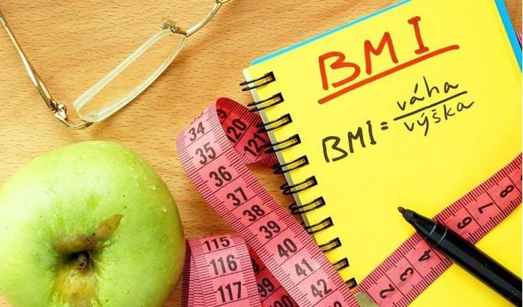 výpočet BMI