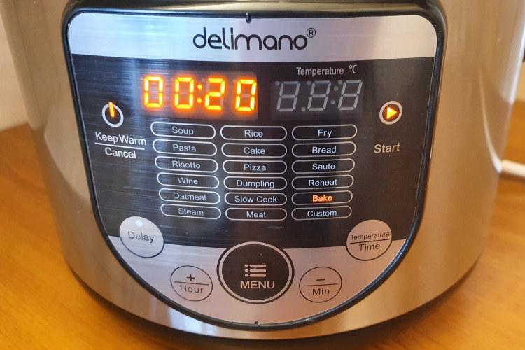 Multifunkční hrnec Delimano 18v1