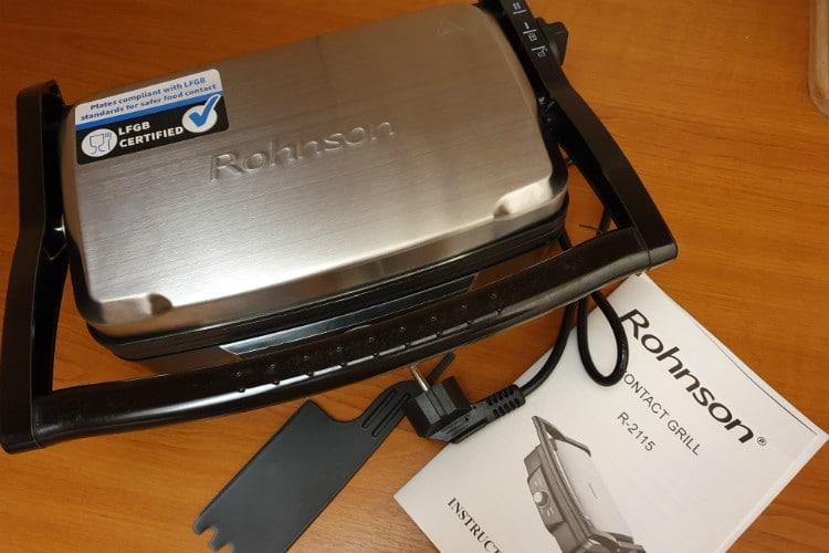 Elektrický gril ROHNSON R-2115 balení