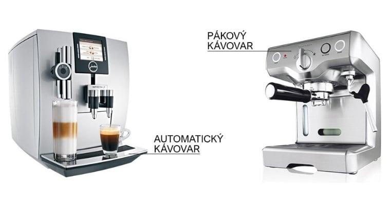 automatický nebo pákový kávovar