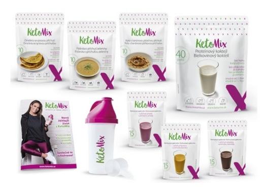 KetoMix dieta na 2 týdny