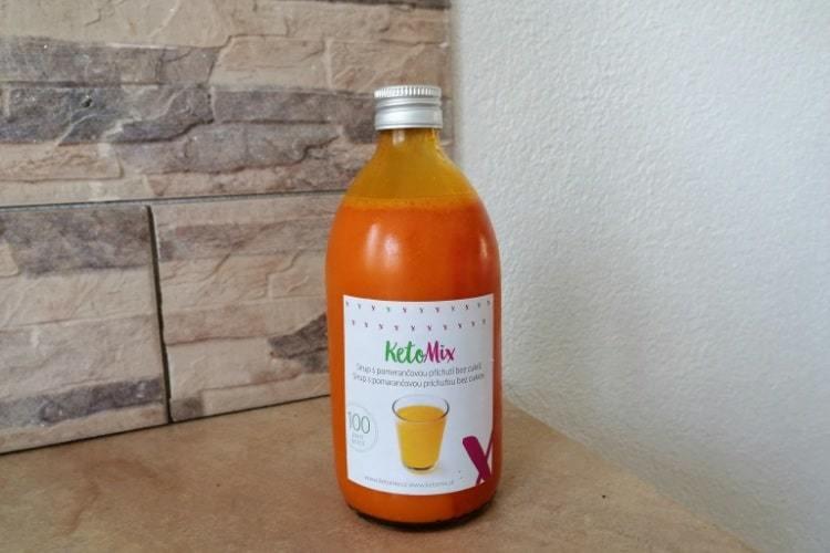 ketomix sirup bez cukru zkušenosti