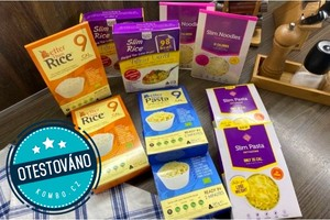 Konjakové těstoviny a rýže