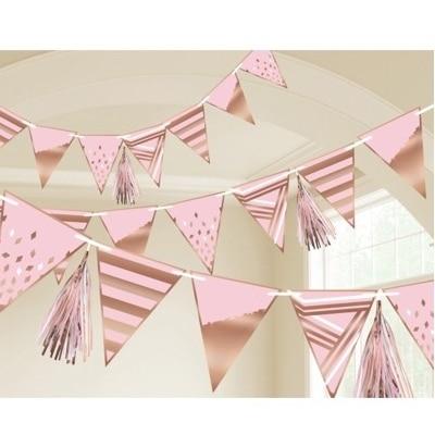 dekorace baby shower dívka