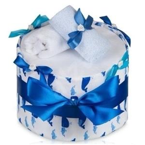 plenkový dort modrý