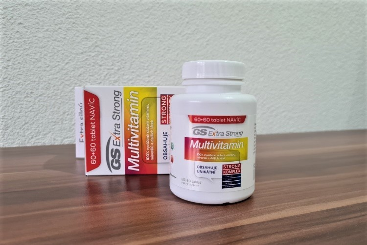 GS Extra Strong Multivitamin recenze