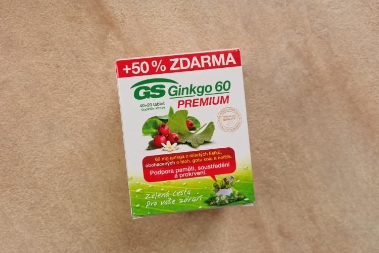 GS Ginkgo 60 PREMIUM recenze