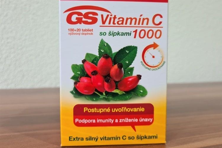 GS Vitamin C 1000 se šipkami zkušenosti