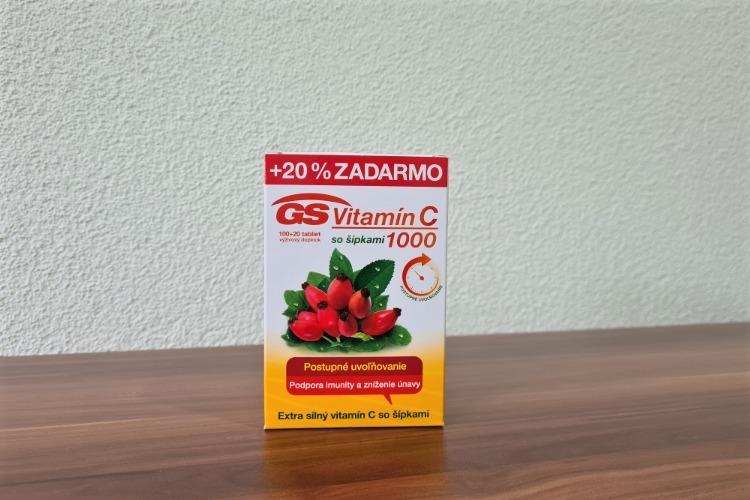 GS Vitamin C 1000 se šipkami
