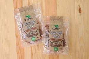 Bonitas kokosové chipsy s kakaem