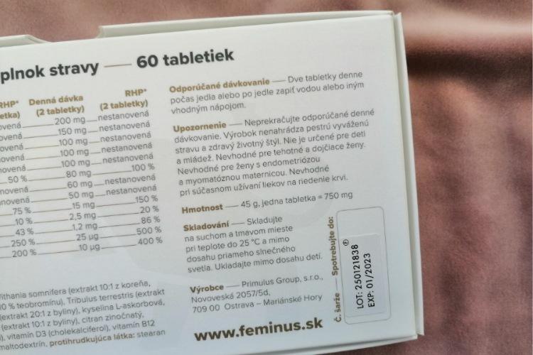 dávkovaní feminus